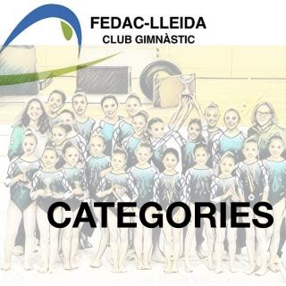 CATEGORIES FEDAC
